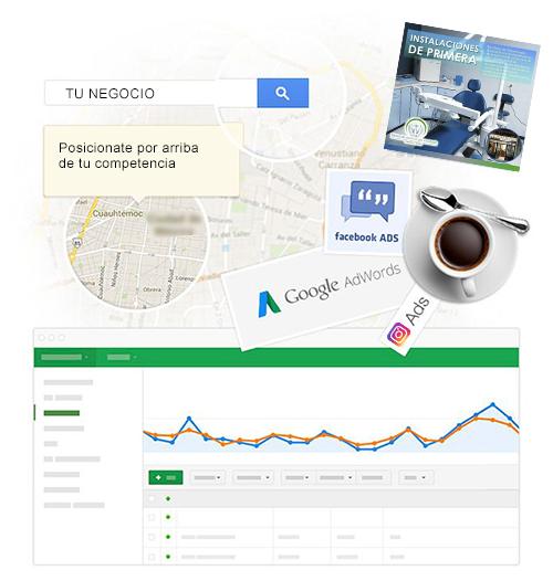 Campañas en Redes Sociales y administración profesional de Redes Sociales.